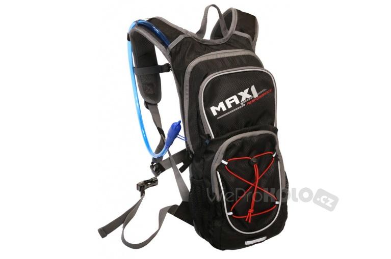 12468a3bb8 Sportovní batoh MAX1 HYDRAPACK s vodním rezervoárem 10+2 l černý ...