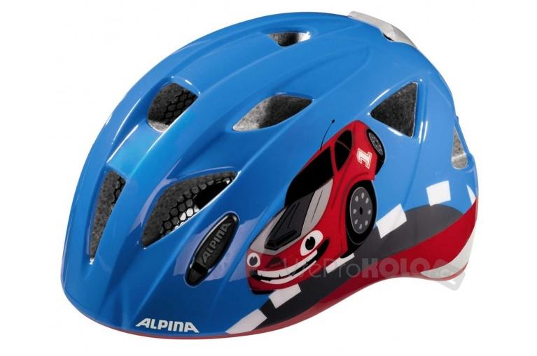95e1565b4b Dětská přilba ALPINA ximo flash A9710.0.80 1.80 (red car) 45-49
