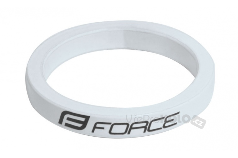 "Spacer 1 1/8"" 5 mm FORCE - bílá"