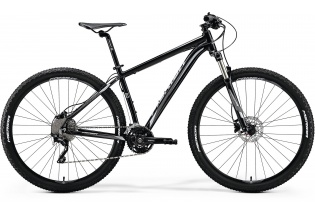 "29"" MERIDA BIG.NINE 80-D mod.018   (metallic black/silver)"