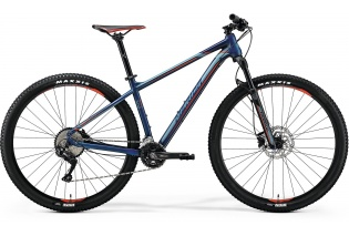 "29"" MERIDA BIG.NINE 500 mod.018   (matt petrol blue/grey/signal red)"