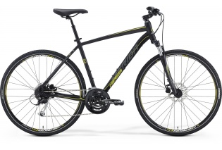 MERIDA Crossway 100 (matt black/grey/yellow)