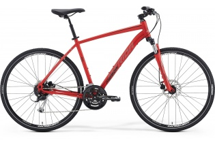 MERIDA Crossway 100 (matt red/grey/black)