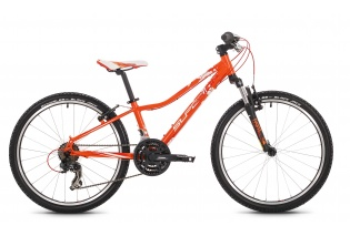 "24"" juniorské/dětské kolo SUPERIOR XC24 PAINT mod.016   (orange/white/red)"