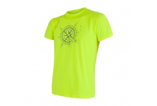 9dda123bc2ab pánské triko SENSOR Coolmax Fresh PT KOMPAS reflex žluté